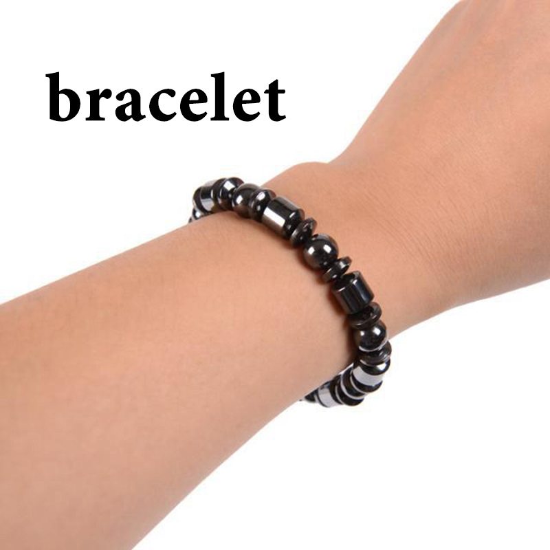 Magnetic Stone Leg Anklets For Women Accessories Men Black Ankle Bracelet Gifts Lose Weight Feet Bracelet Foot Womens Jewellery 5