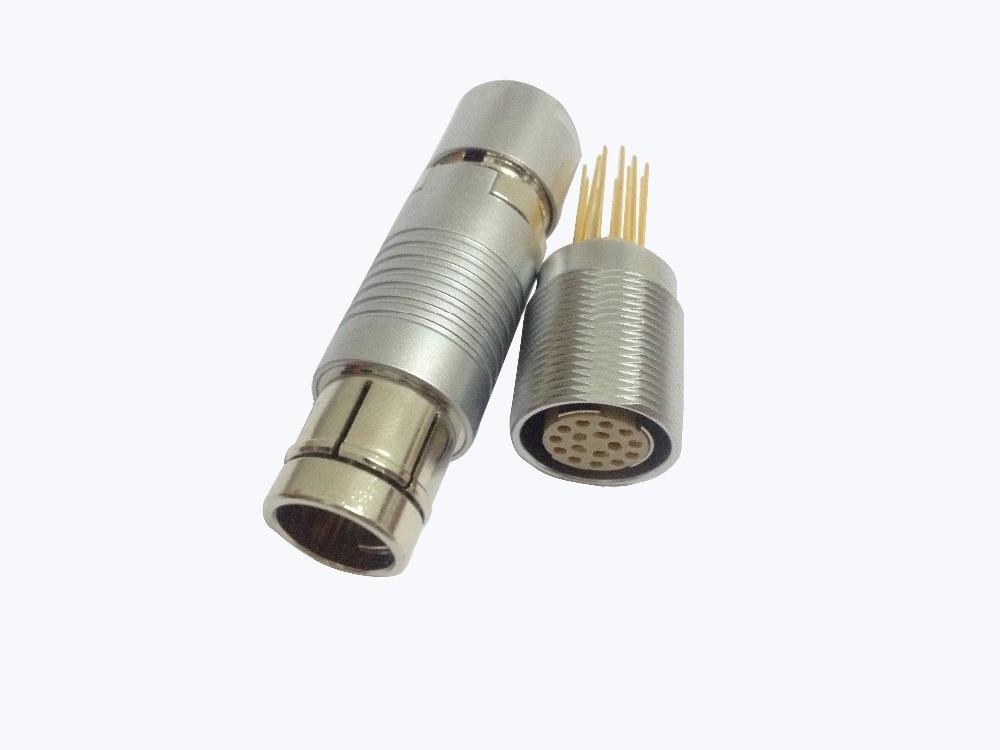 LEMO connector  F-I-S-CH-E-R  105  CONNECTOR   16PIN  19PIN   27PIN