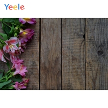 Yeele Lace Brown Grey Black Wooden Board Planks Commodity Show Photography Backgrounds Photographic Backdrops For Photo Studio