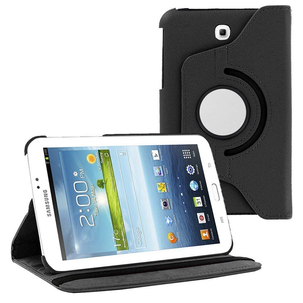 360 Rotation Flip Holder Funda For Galaxy Tab 3 7