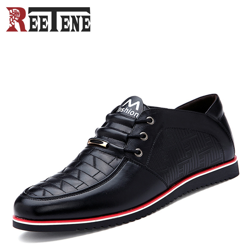 Genuine Leather Cowhide Men's Casual Shoes Spring Autumn Fashion Men Classic Handmade Lace Up Flats Comfortable Soft Bottom Shoe 2017 spring autumn new genuine leather lace up oxford shoes female thick bottom flats shoes europe style martin shoe obuv