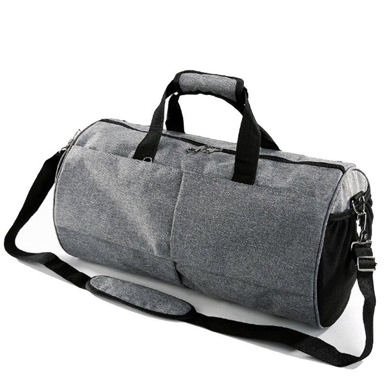 ✔  Сумки на плечо для йоги Цилиндрические дорожные сумки для женщин и мужчин Сумка через плечо вещевая  ✔