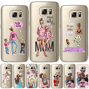 Girl Queen Soft TPU Cover For Samsung Galaxy S6 S7 Edge S8 S9 Plus S10 Plus E Note