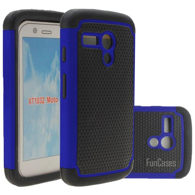 For Motorola Moto G 1st Gen Case 4.5inch Hybrid Rugged Rubber Hard Case Cover Silicone+PC For Motog XT1028/XT1031/XT1032