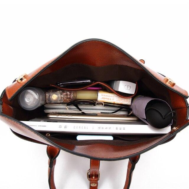 Designer Women Shoulder Bag Large Tote Bag Women's Quality Handbags for Female Crocodile Leather Messenger Bag 4