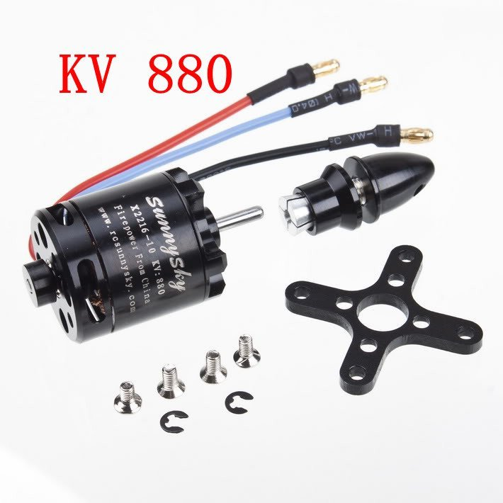F03920 Sunnysky X2216 880KV Outrunner Brushless motor for Big model 1.5G Airplane and DIY toys + FS 2017 dxf sunnysky x2208 1100kv 1260kv 1500kv 2600kv high efficient outrunner brushless motor for quadcopter airplane model