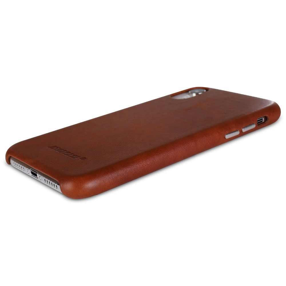 Jison ケース電話ケース iphone XR 本革保護カバー iPhone XR 6.1 インチ高級金属ボタンファッション 2018 新