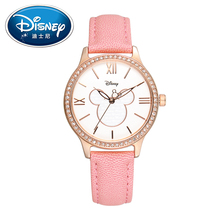 2017 Disney Kids Watch Fashion Cool Cute Quartz Wristwatches Girls Waterproof Mickey Mouse For Children Clock