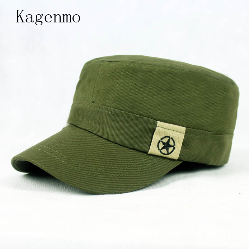 9d0400e4 Kagenmo China Five Pointed Star Military Hats China Map Army Hat Fashion  Unisex Cap Men Women Autumn Adjustable Visor-in Military Hats from Apparel  ...