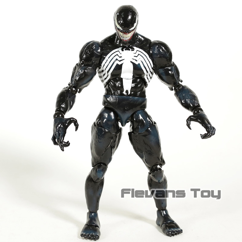 Hot Toys Marvel Legends Venom Spiderman 1/6 Scale PVC Action Figure Collectible Model Toy