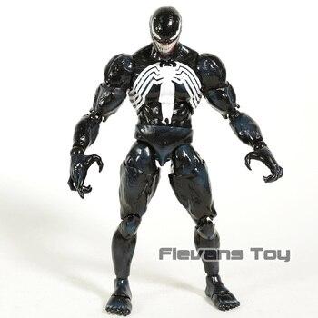 Hot Toys Marvel Legends Venom Spiderman 16 Scale PVC Action Figure Collectible Model Toy predator concrete jungle figure
