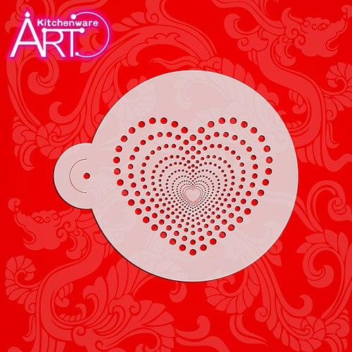 Aliexpress.com : Buy Cake StencilsPlastic ,Valentine Cake ...