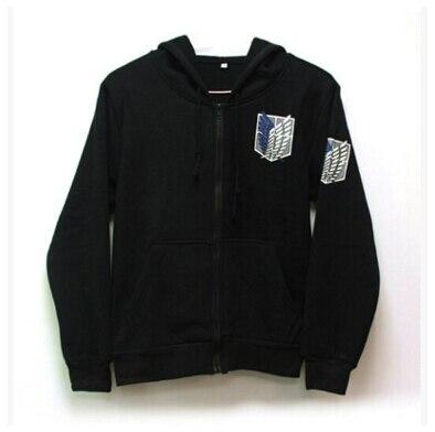 Attack on Titan hoodie Shingeki no Kyojin Legion Cosplay Costume Hoodie Scouting Legion Hooded jacket coat