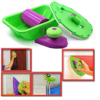 Decorative Paint Roller And Tray Set Painting Brush Paint Pad Pro Point N Paint Household Wall