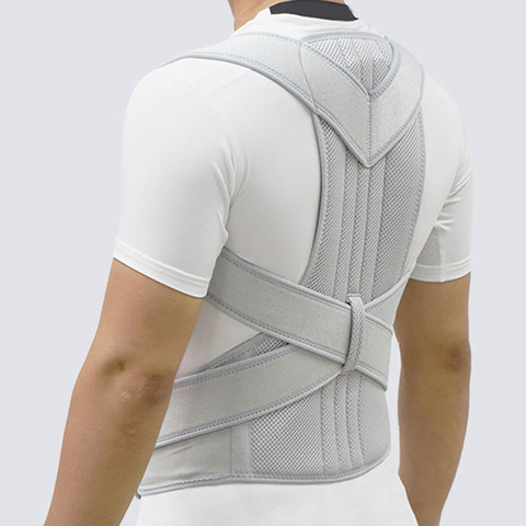 ombro cronica dor nas costas cinto de suporte postura corrector