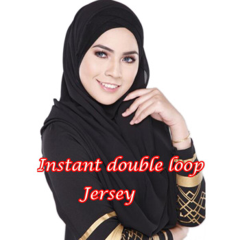 85*180cm Muslim jersey Double Loop Instant hijab femme musulman headwrap islamic headscarf hijab cotton Modal shawl 1pcs/lot 1