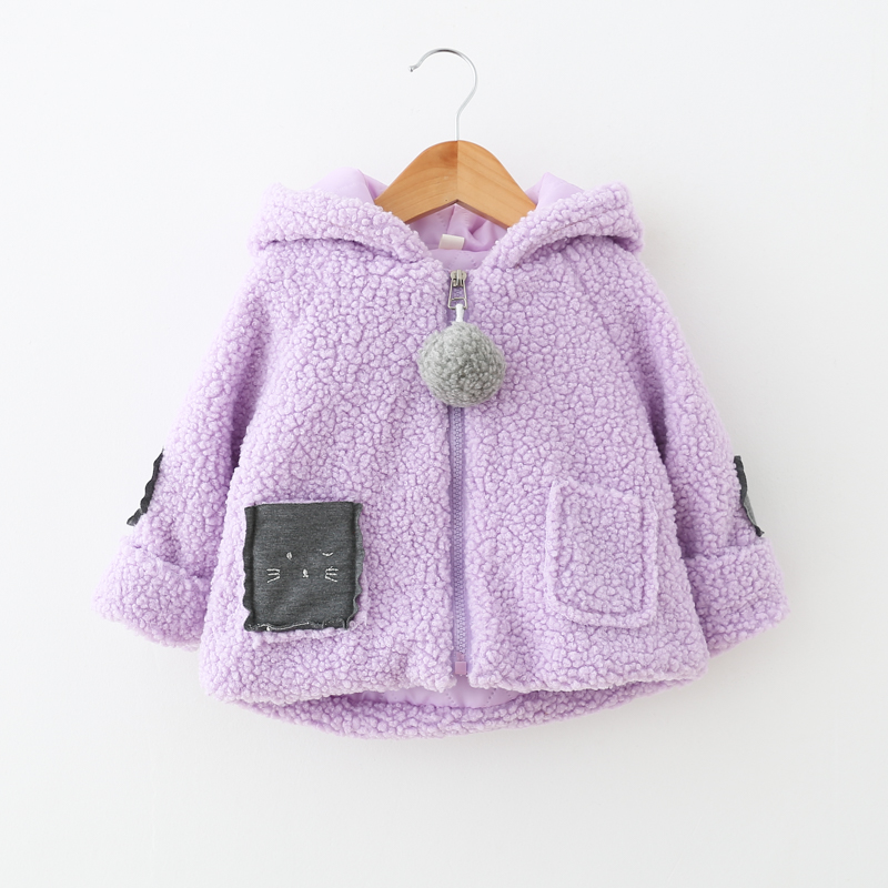 Baby Girls jacket Winter Autumn Infant Clothes newborn warm for girl outerwear Kids hoodies children Coat 2 years old Clearance