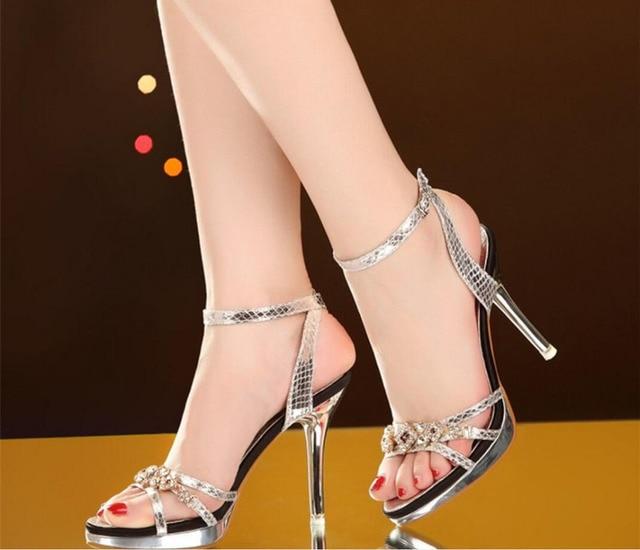 Gold sexy Schuhe
