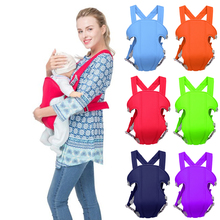 6 Colors Ergonomic Baby Carrier Infant Kid Hipseat Sling Front Facing Kangaroo Wrap for Travel 0-36M