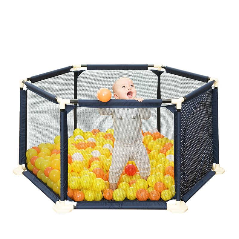 เด็กเล่นรั้วเด็กในร่มรั้วความปลอดภัย crawling บาร์ทารกเด็กวัยหัดเดินรั้วเด็กรั้ว