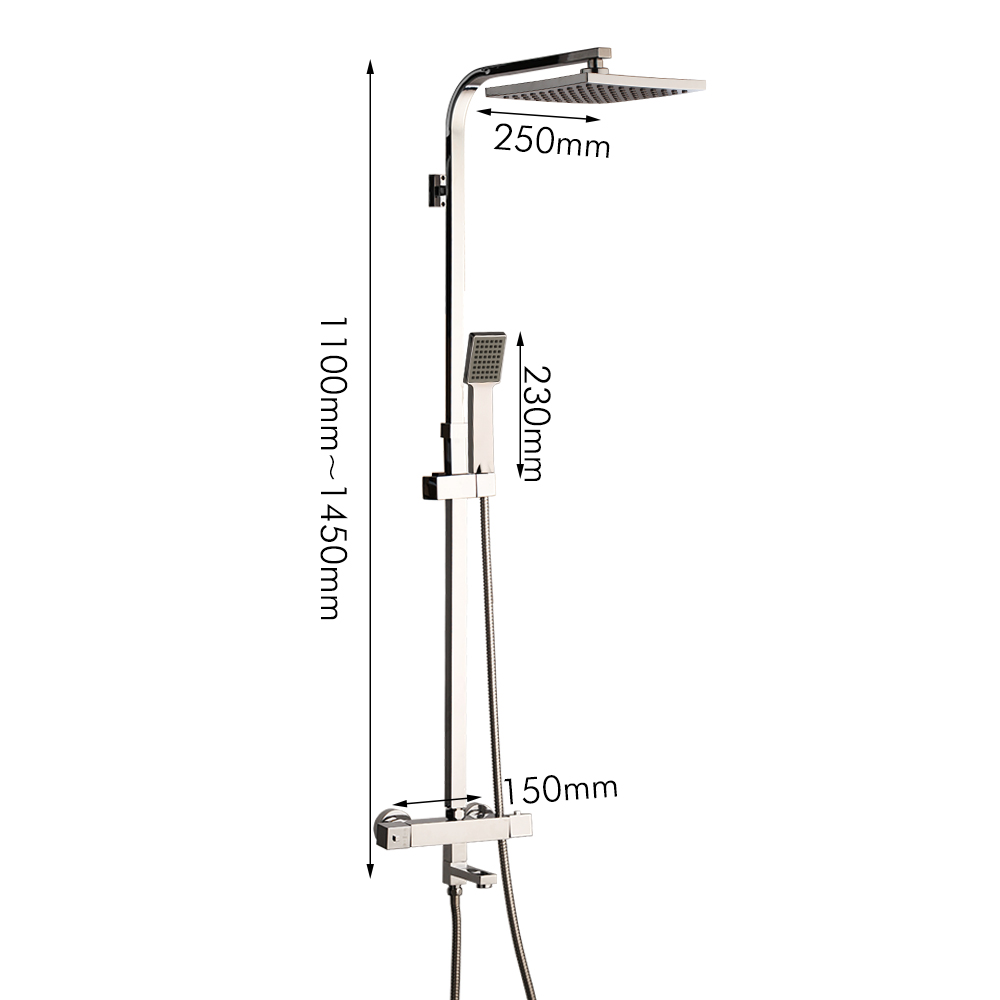 medium resolution of kemaidi shower set intelligent thermostatic faucet shower nozzle brass thermostatic mixing valve bathroom faucet shower system in shower faucets from home