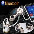 Coche Reproductor de Audio MP3 Transmisor FM Bluetooth Dual USB Cargador Inalámbrico Modulador de FM Kit de Coche Manos Libres AUX Pantalla LCD w/TF Ranura