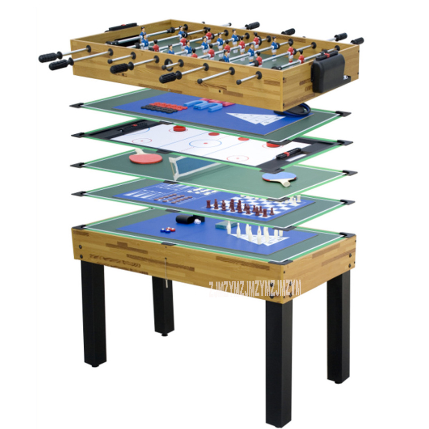 SUM-4524-12 12 Function in 1 Billiard Table Set Soccer Table Tennis Ice Hockey Chess Poker Bowling Dice Indoor Game Play Tool 36 multi function 4 in 1game table top kids toy table 4 different game soccer table tennis air hockey pool