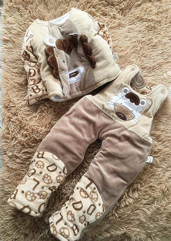 (1 Stuk/partij) 2019 Winter Warm Baby Bovenkleding 0-1 Jaar Oude 73 Cm Om Een Gevoel Op Gemak En Energiek Te Maken