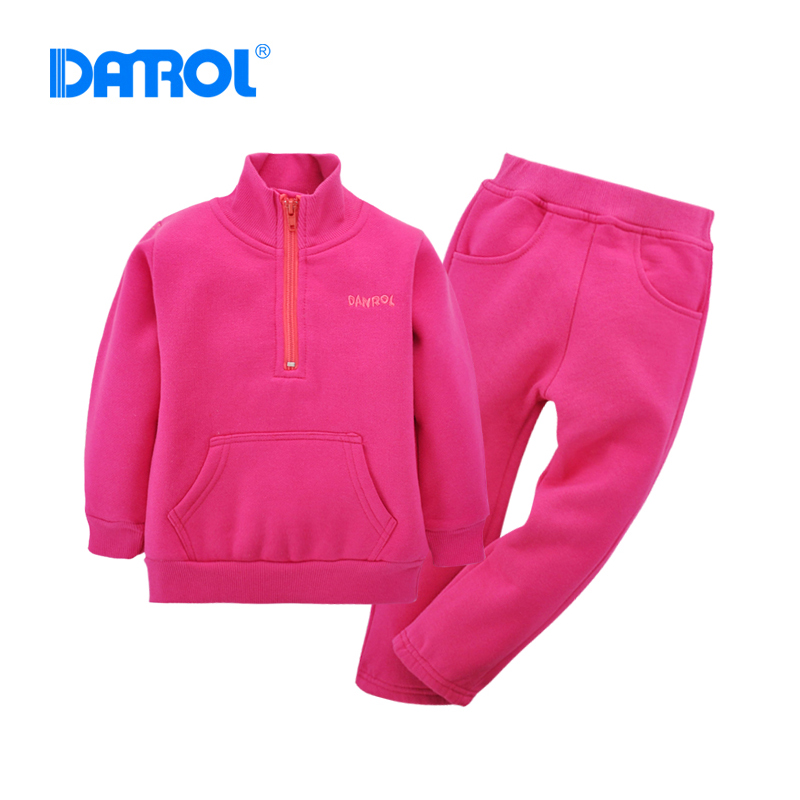 Soft-Active-Solid-Baby-Boy-Girl-Hoodies-Sets-Fleece-Long-Sleeve-Stand-Collar-With-Zipper-Long-Pants-Children-Sport-Suit-DR0186-3