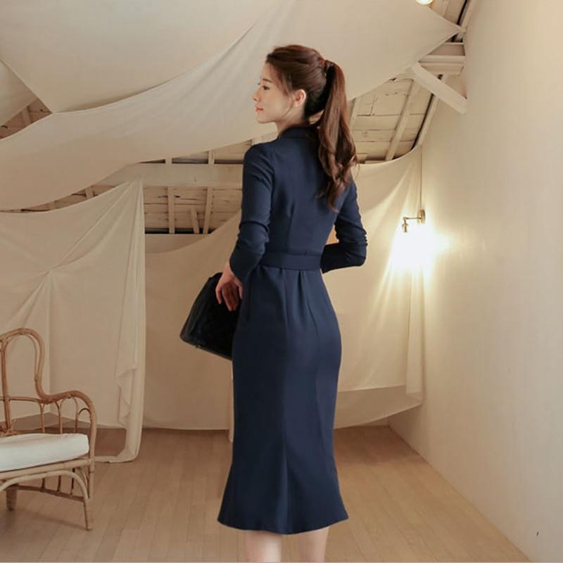 Vestidos OL Deniz スタイルワインレッド女性のドレスエレガントなダブルブレストサッシ女性