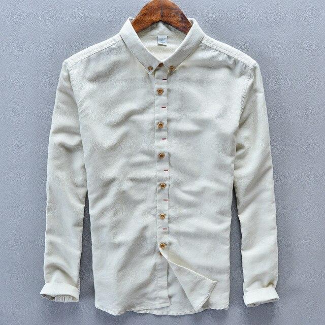 Aliexpress.com : Buy Casual Hawaiian Shirt Men shirt Cotton Linen ...