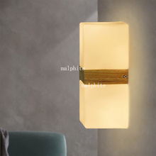 цена на Nordic LED Pendant Lights Wall Lamp Staircase Wall Light Simple Bedroom Bedside Lamp Warm Decorative Wall Sconce Home Decor Art