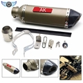new brand Motorcycle accessories Akrapovic Exhaust pipe Scooter Muffler Dirt Bike Parts For KTM 525EXC-R  2005-2006