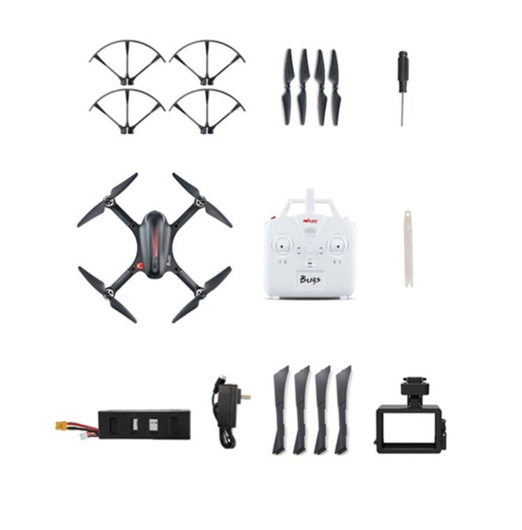 B3 Bugs 3 RC Quadcopter Brushless 2.4G 6-Axis Gyro Drone with Camera Mounts for Gopro Camera free shipping 18