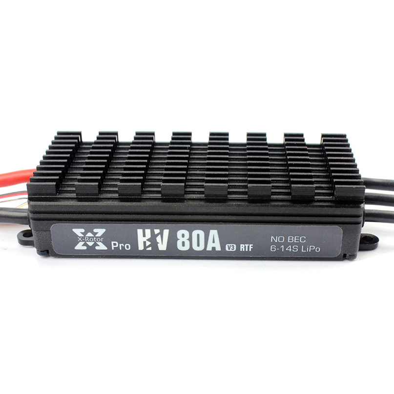Hobbywing XRotor Pro 80A HV V3 ESC Electronic Speed Controller 14S for Multicopter Agricultural Drone newest flycolor waterproof 80a hv brushless esc for agricultural rc drones diy quadcopetr multicopter