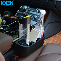 2016 Universal Car Accessories Double Cup Holder Car Seat Phone Holder Car Mount Glove Box Car