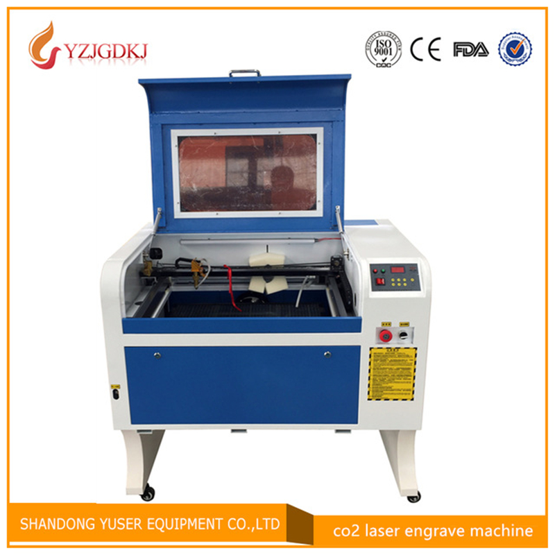 4060 Laser Engraving 600*400mm 100W Co2 Laser Cutting Machine Specifical for Plywood/Acrylic/Leather Free Shipping coreldraw
