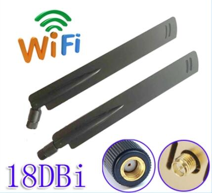 OSHINVOY 2.4g SMA antenne wifi module haute gain 18dBi antenne en caoutchouc intérieure wifi sans fil routeur antenne