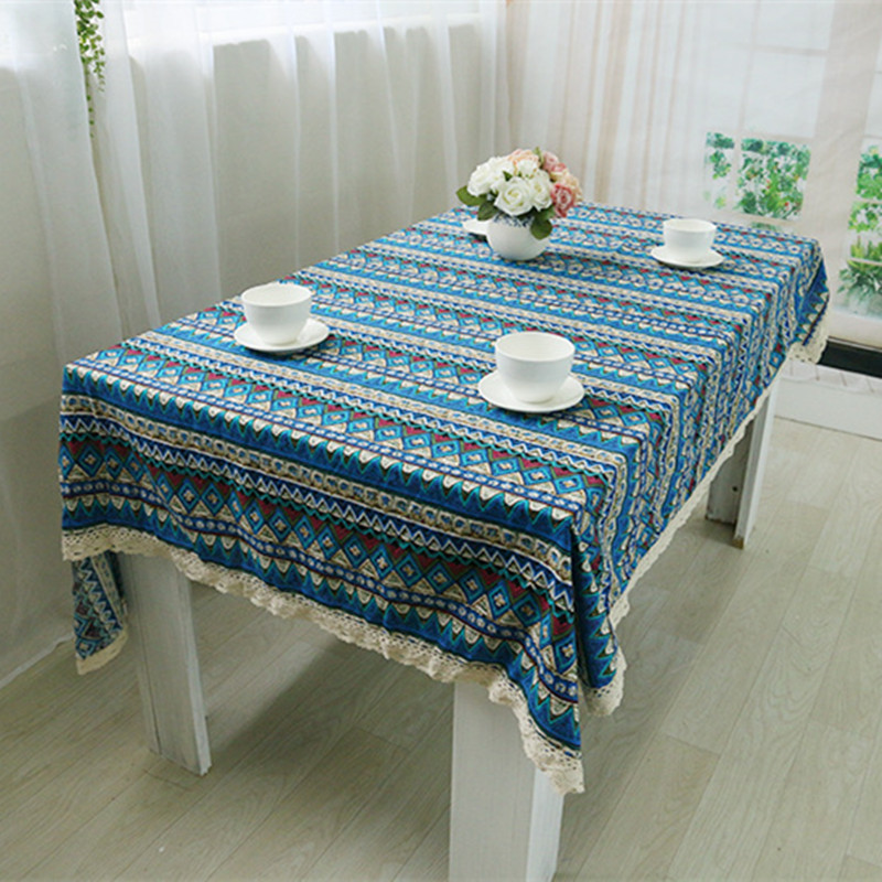 Aliexpress.com : Buy Free Shipping National Wind Tablecloths Cotton Linen  Nice Quality For Hotel/Party/Hotel/Dinner Kitchen Decoration Table Cover  From ...