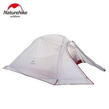 Naturehike CloudUp серии Сверхлегкий Палатка Открытый Пеший туризм палатка Семья палатка для 3 человек NH15T003-T