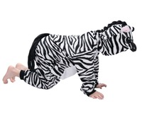 DOUBCHOW Kids Jongens Meisjes Zebra Onesies Kostuums Cartoon Leuke Pyjama Party Kerstmis Halloween Childrens Cosplay Lounge Wear