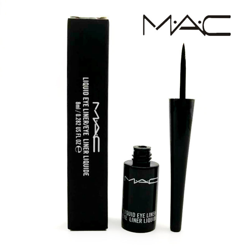 MAC Makeup Maquillaje Profesional Liquid Eyeliner Women Eye Cosmetic Makeup Tools Makeup Accessories Easy to Use free shipping 3 pp eyeliner liquid empty pipe pointed thin liquid eyeliner colour makeup tools lfrosted purple