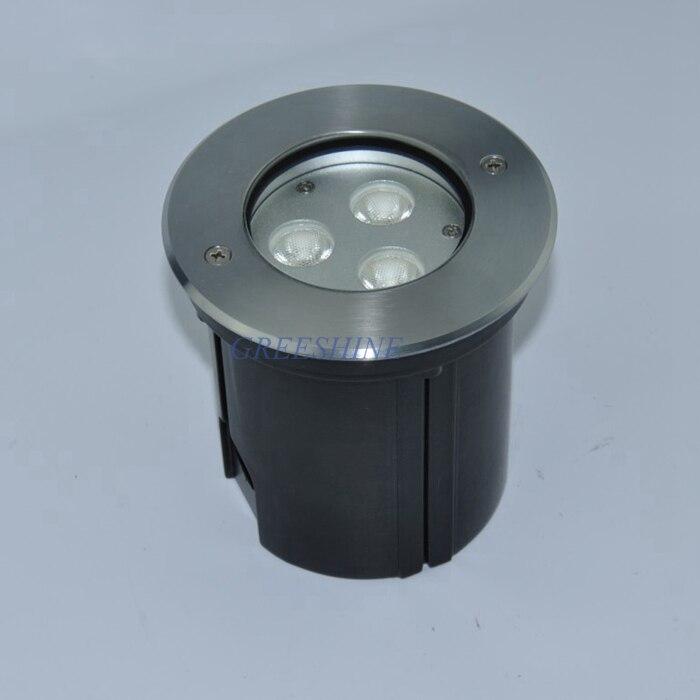 Işıklar ve Aydınlatma'ten LED Yeraltı Lambaları'de DC24V 9 W Dış Mekan aydınlatma IP67 RGB yeraltı lambası Yüksek kaliteli LED Inground Işık Kare ve Bahçe için 8 adet/grup title=