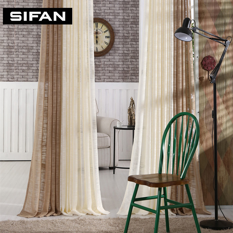Bedroom Curtains Solid Color Japan Window Shades Imitation: New Japan Solid Tulle Curtains For Bedroom Tulle Window