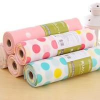 11.82*118in Nonwoven Pastoral Waterproof Oilproof Dustproof Tablecloth Colorful Picnic Party Refrigerator Table Cloth