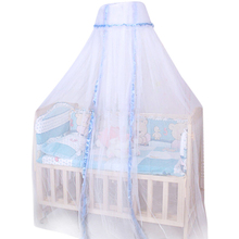 Ouneed mosquito net White Babe Round Dome Baby Infant Mosquito Net Toddler Bed Crib Canopy Netting*30 GIFT 2017 Drop shipping(China)