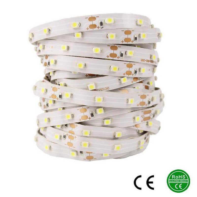 LED Strip SMD 3528 DC12V 5 V 5 M 10 M/pack 60 LED/M Pencahayaan Dalam Ruangan Dekoratif Tape Putih biru Merah Festival TV LED Strip Lampu