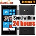 Оригинальный Телефон Разблокирован Nokia Lumia 720 6.1MP Камера WI-FI GPS NFC GSM 3 Г Сотовые телефоны 4.3 ''Сенсорный Windows Phone