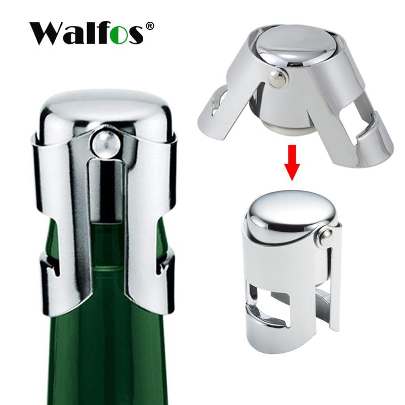WALFOS 304 stainless steel champagne cork portable sealing machine bar stopper wine cork sparkling wine champagne cap 1