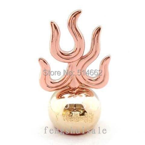 Feng Shui Enamel Red Ksitigarbha Fireball
